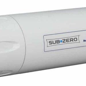 Subzero water filter – single prong