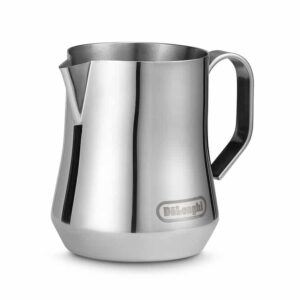 De'Longhi stainless steel milk frothing jug 350ml